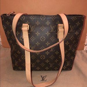 Authentic Louis Vuitton Cabas Piano Bag